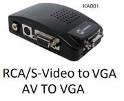 KA001 AV TO VGA CONVERTER