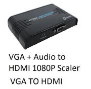 Kameha KA019 VGA + Audio to HDMI