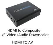 Kameha KA022 HDMI to S-Video+Audio Downscaler